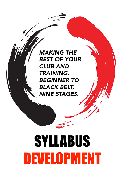 Martial Arts Syllabus Development