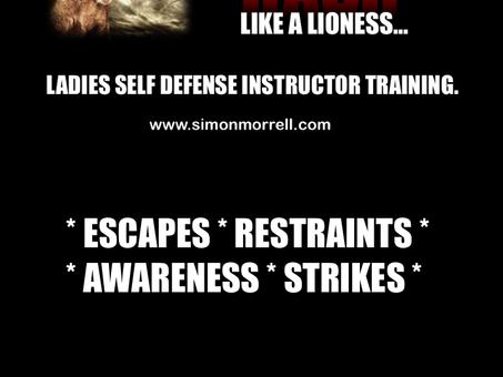 ROAR LADIES INSTRUCTOR SELF DEFENCE TRAINING