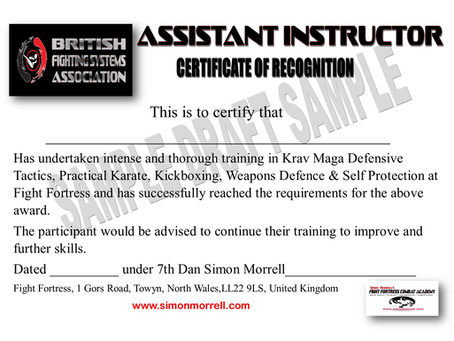 Krav Maga Instructors Course Day Seven