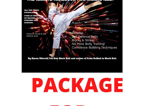 FREE KARATE KIDS PACKAGE