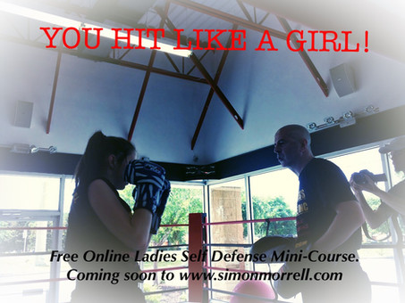 YOU HIT LIKE A GIRL NOW LIVE!