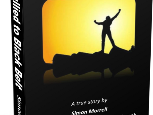 FROM BULLIED TO BLACK BELT ON KINDLE, NOW ONLY £0.77