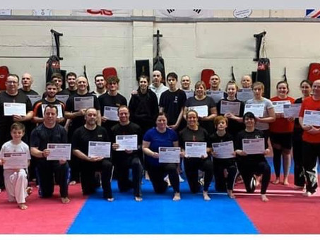 Wirral Taekwondo Be Your Own Bodyguard seminar.