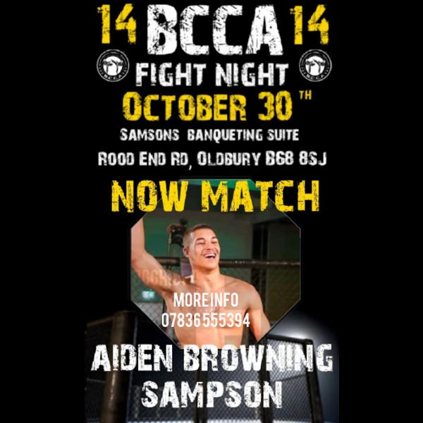 BCCA 14 Fight Night