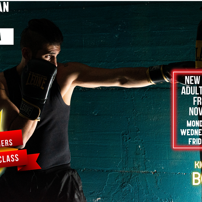 November Adults Boxing