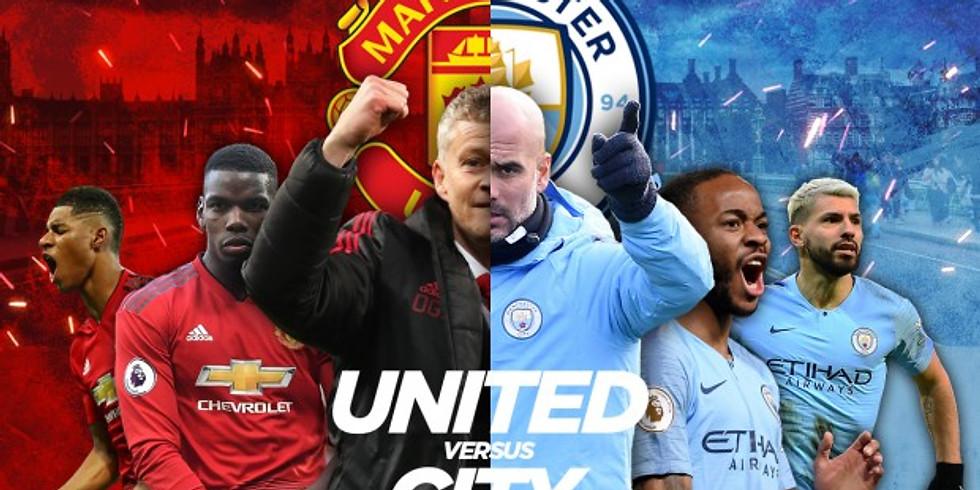 Man Utd v Man City - Manc Derby