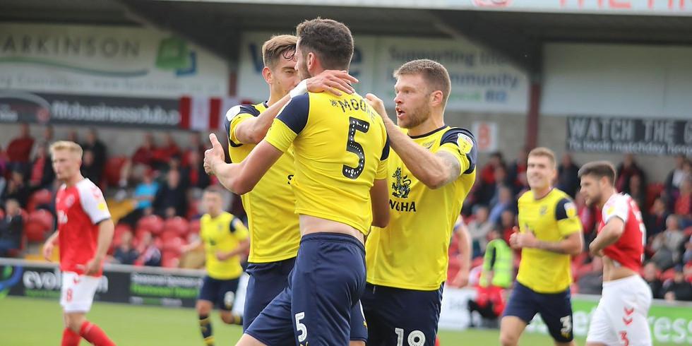 Oxford Utd vs Man City - Carabao Cup