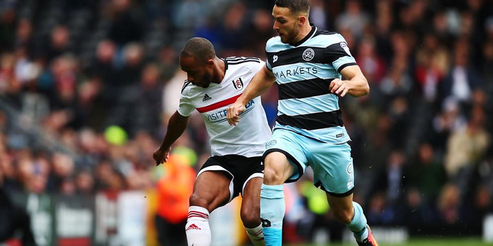 Fulham v QPR - Live Championship Football