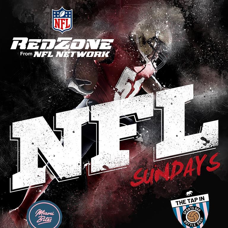 NFL Redzone Sunday @ The Tap In
