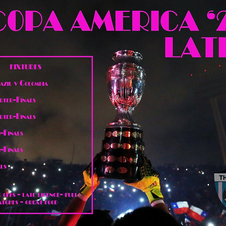 Copa America Lates: Brazil v Colombia