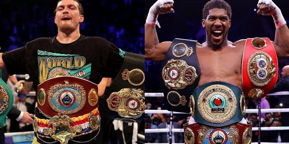 Joshua v Usyk : Live heavyweight Title Fight