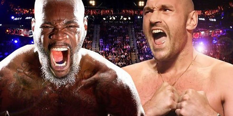 TysonFury v Wilder II : Full fight Live