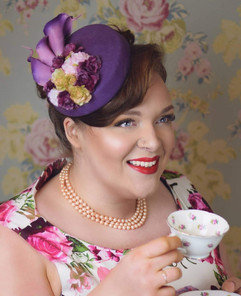 Vintage Pill Box Hats Vandalised with Love
