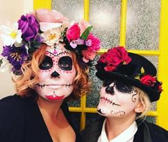 Halloween Headdress Vandalised with Love