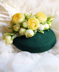 Vintage inspired pill box hats