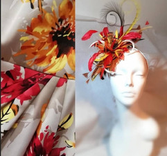 Feather Fascinator to match VwL