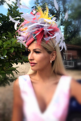 Ascot Hat Vandalised with Love