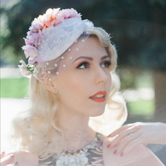 Vintage inspired hats by Vandalised with Love