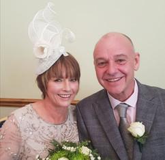 Wedding Hats Vandalised with Love