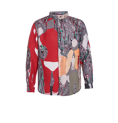 Froy Painting Printed Shirt