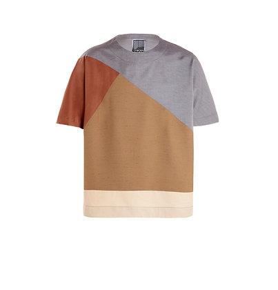 Intarsia Kimono T-Shirt