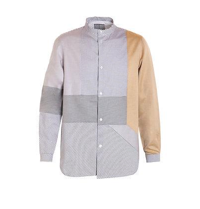 Geometric Intarsia Shirt