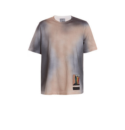 Airbrushed T-Shirt with Patch