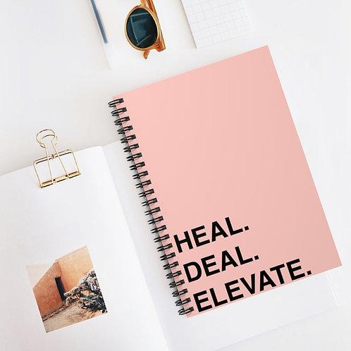 HDE| Spiral Notebook - Ruled Line
