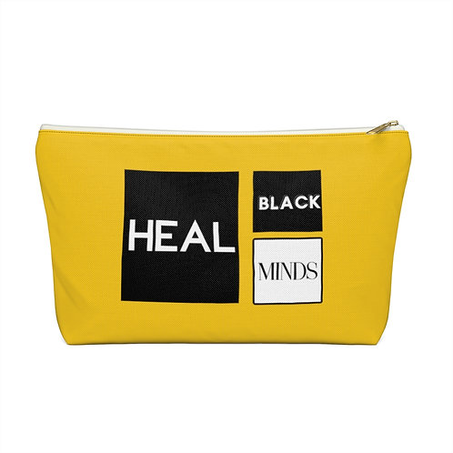 Yellow Travel/Cosmetic Pouch