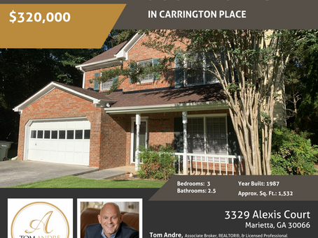 New Listing in East Cobb