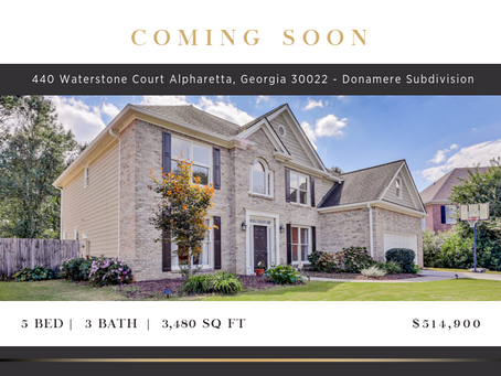 Coming Soon in the Donamere Subdivision of John's Creek, GA