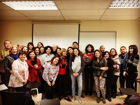Entrenamiento en Protocolos EMDR para grupos en catástrofes y emergencias en Chile.