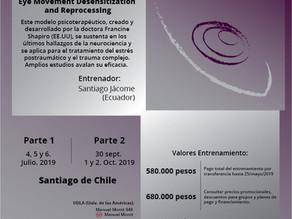 Nuevo entrenamiento en terapia EMDR en Chile
