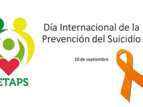 Día Internacional de la Prevención del Suidicio - 10 de Septiembre