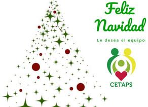 Feliz Navidad le desea el equipo de CETAPS