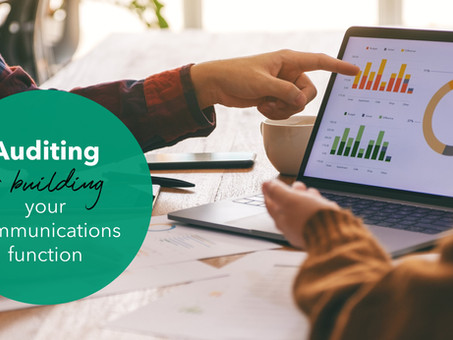 How to Audit Your Company's Communications Program