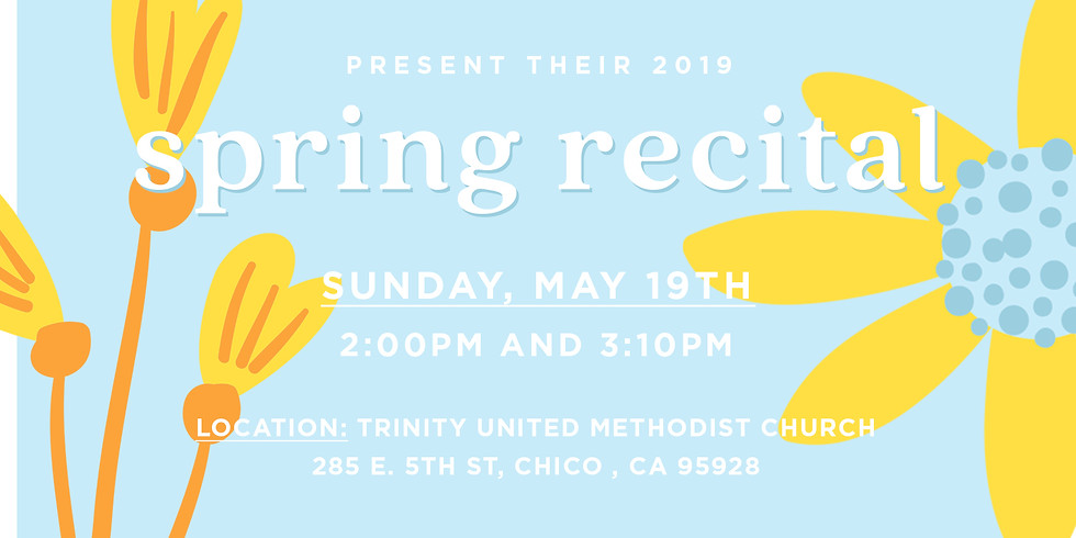 2019 Spring Recital