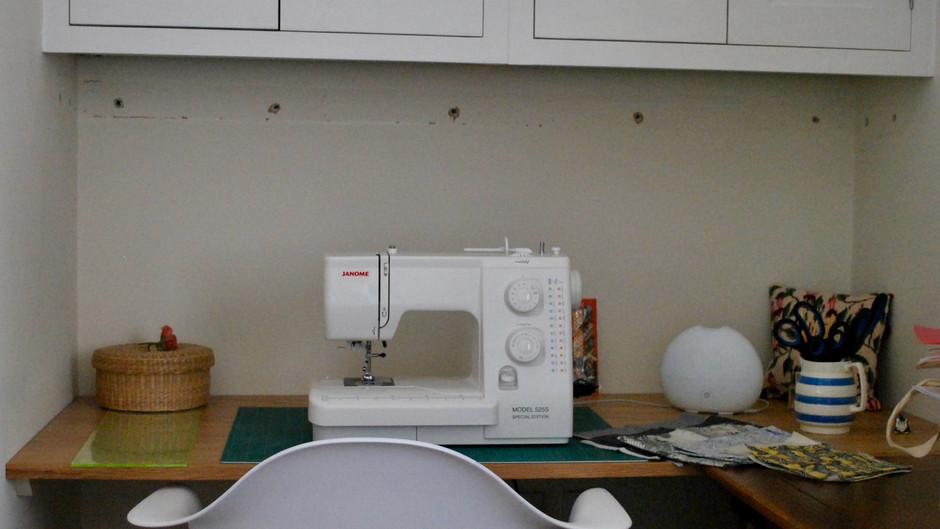 Reinvention: a sewing corner