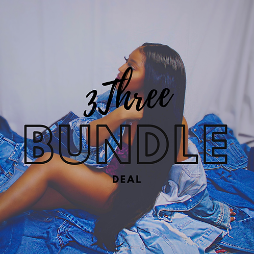 3 Bundles Deal