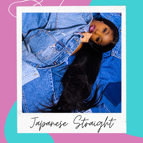 """Japanese Straight"" Full Lace Wig"