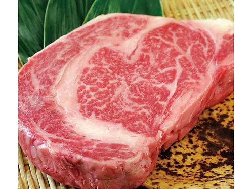 【お肉を食べよう】黒毛和牛リブロース1ポンドステーキ450g