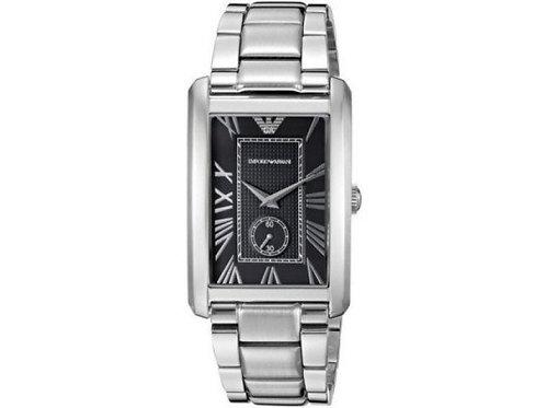 EMPORIO ARMANI エンポリオアルマーニ 腕時計/メンズ/AR1608/ブラックダイアル/クラシック