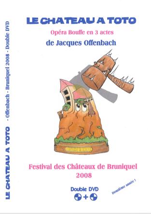Double DVD - 2008 Le Château à Toto
