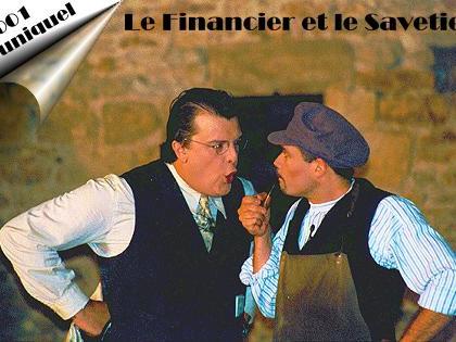 La Compagnie de la Tour Brunehaut interprète le Financier et le Savetier de Jacques Offenbach