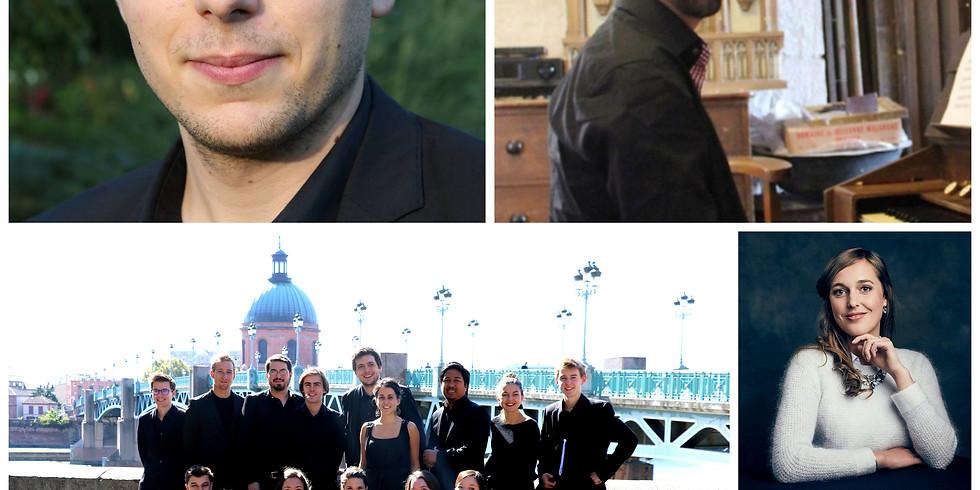 L'Ensemble Dulci Jubilo à Toulouse les Orgues (1)