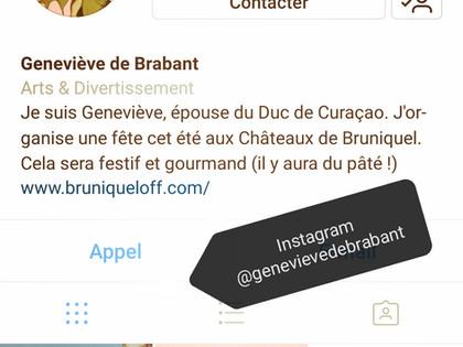Suivez les aventures de Geneviève !