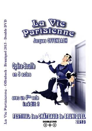 Double DVD - 2013 La Vie Parisienne