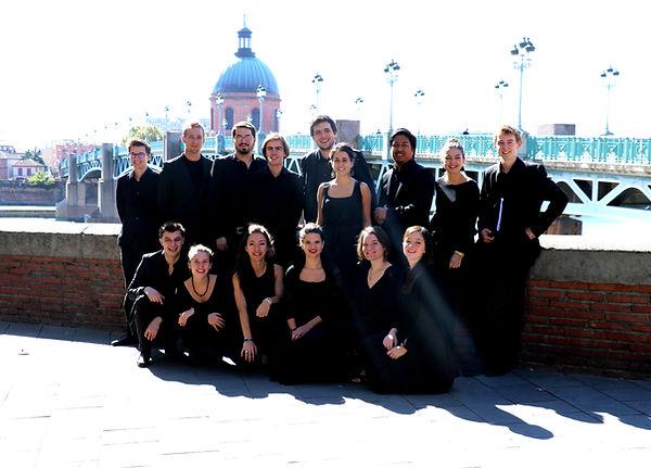 Ensemble Dulci Jubilo au Festival Toulouse les Orgues
