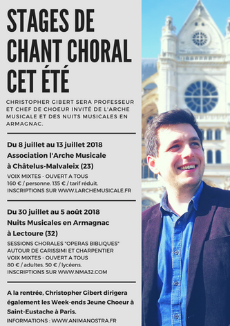 Stages d'Été de Chant Choral