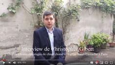 Interview Christopher Gibert : Stages jeune chœur et technique vocale